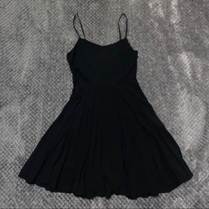 Old Navy Dresses - Black skater dress with straps size x-small